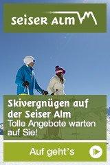 Skiurlaub auf der Seiser Alm