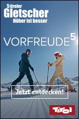Urlaub auf den 5 Tiroler Gletschern